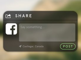 Daily UI 010 – Social Share